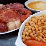 Platos de cuchara. Cocido Madrileño